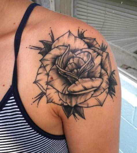 tattoo tribal ombro e braço 61 melhores imagens de tatuagem de rosa no pinterest