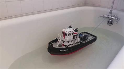 boat winch test richardson tugboat deck winch bathtub test youtube