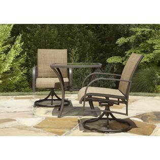 Oasis Outdoor Patio Furniture Garden Oasis Dewitt 3pc Bistro Set Limited Availability Outdoor Living Patio Furniture