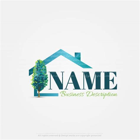 home design logo free create your own online house real estate logo design