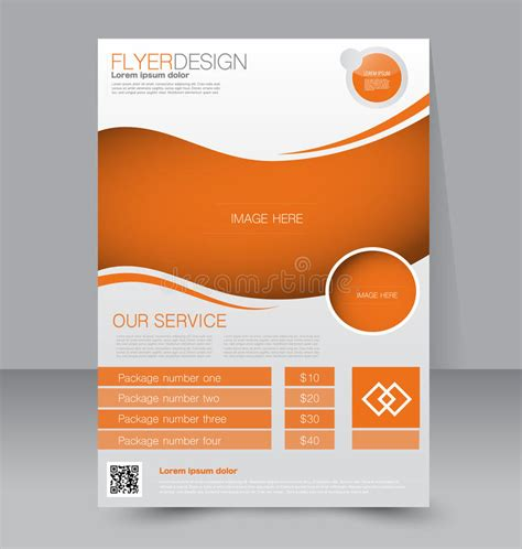Editable Brochure Templates by Flyer Template Business Brochure Editable A4 Poster
