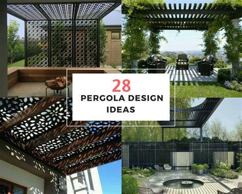 themes for design projects 28 pergola design ideas the architects diary