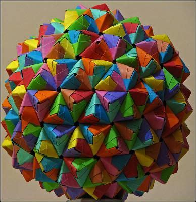 How To Make Origami Sphere - best 25 origami ideas on