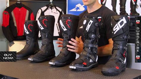 best street bike boots sidi off road boot guide from motorcycle superstore com