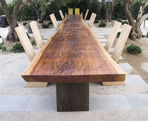 mann redwood table for sale at 1stdibs