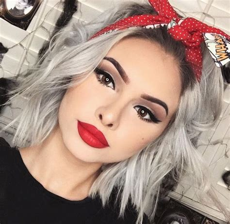 biker bandana look cute on thin hair 25 best ideas about modern short hairstyles on pinterest