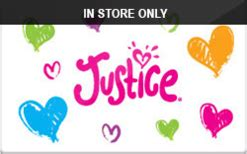 Justice Store Gift Card - buy justice in store only gift cards raise