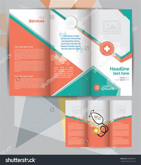 tri fold brochure indesign template free 5 best agenda