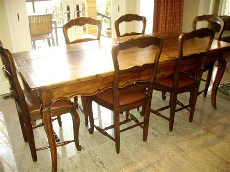 antique provencal french country table   chairs