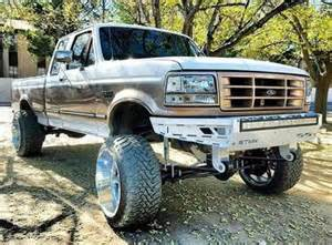 Obs Ford Bumpers 1992 1998 Obs Ford F250 F350 Front Bumper Showtime Metal