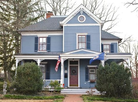 blue house white trim blue house white trim exteriors of houses pinterest