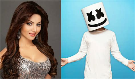marshmello identity urvashi rautela may have revealed marshmello s identity
