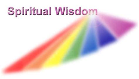 Spiritual Wisdom spiritual wisdom