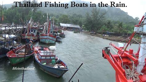 fishing boat sale thailand thailand fishing boats in the rain chanthaburi thailand