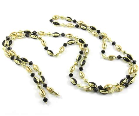 black gold beaded garland jubilee gift shop