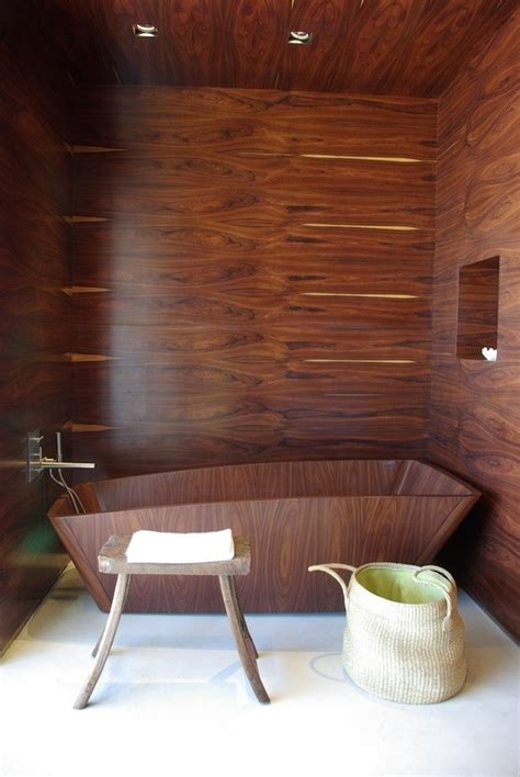 wood wall in bathroom 20 bathrooms with wood wall designs