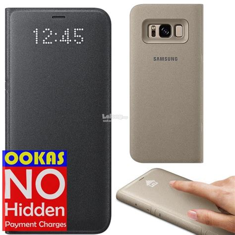 Samsung Led View Cover Galaxy S8 Original 1 genuine official samsung galaxy s8 l end 5 16 2019 9 15 am