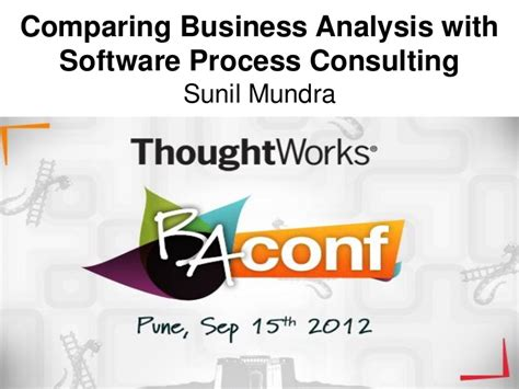 comparing business analysis with software process consulting