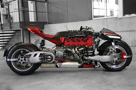 Build A Maserati by Yes This Bike Is Built Around A Maserati V8