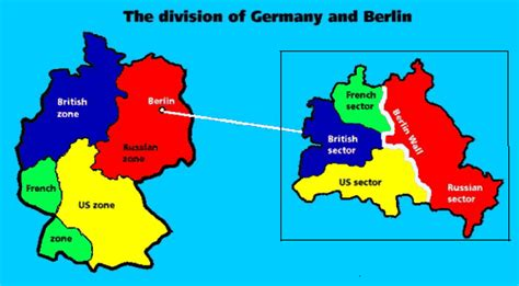 map of germany showing berlin history 104 lecture cold war