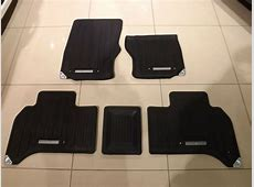 Genuine All New Range Rover Rubber Footwell Mats ... Range Rover Car Logo