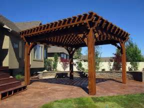 Cedar Pergola Kits tub pergola kits home design ideas