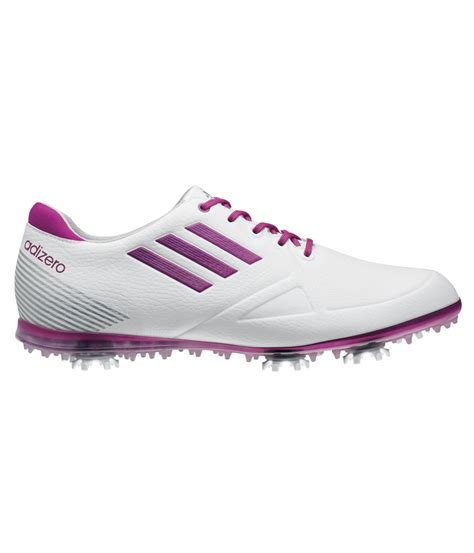 adidas adizero tour golf shoe white pink