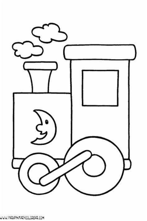 imagenes para colorear un tren dibujos para colorear de trenes 002