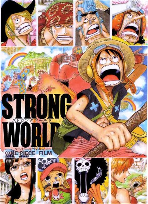 one piece film x strong world one piece film strong world movie posters from movie