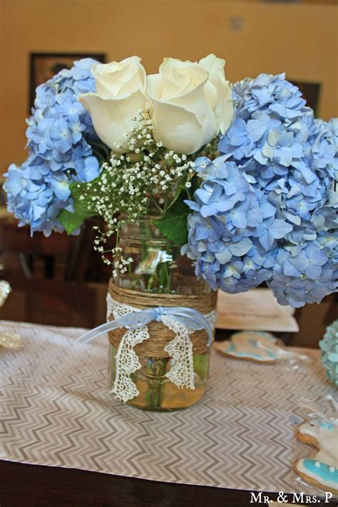 decorating ideas fancy image of rose and hydrangea blue