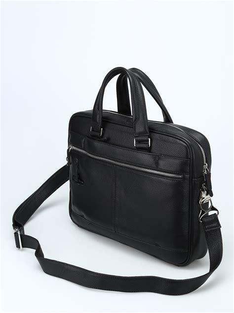 borse da ufficio piquadro cartella nera in vitello bottalato piquadro borse da