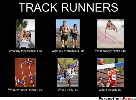 Meme Tracking - track runners what people think i do what i really