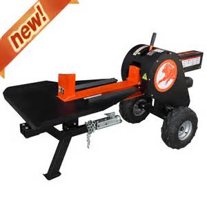 Home Depot Outdoor Christmas Decorations powerking 34 ton 6 5hp gas horizontal kinetic log splitter