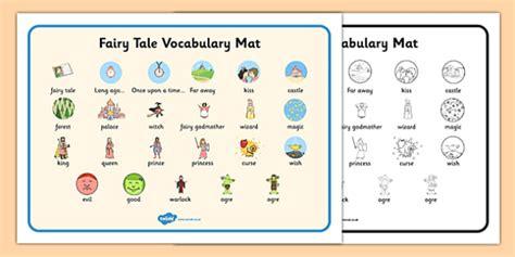 Tale Word Mat by Tale Vocabulary Mat Tale Tale