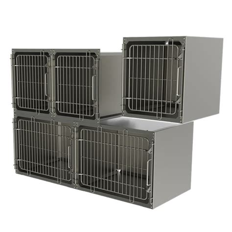 steel kennel stainless steel kennels uk manufacturer technik veterinary