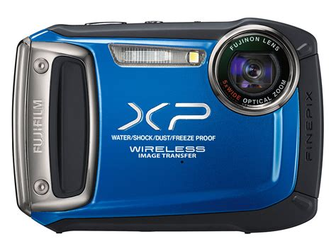 fujifilm waterproof fujfilm announces xp170 waterproof compact with wireless
