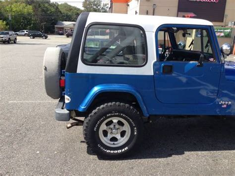 jeep islander 4 door find used 1991 jeep wrangler islander sport utility 2 door