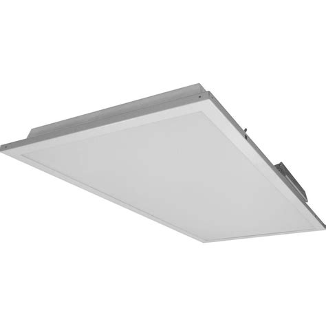 Ceiling Troffer by Nicor T3c 2 Ft X 4 Ft 3500k White Dimmable Led Ceiling