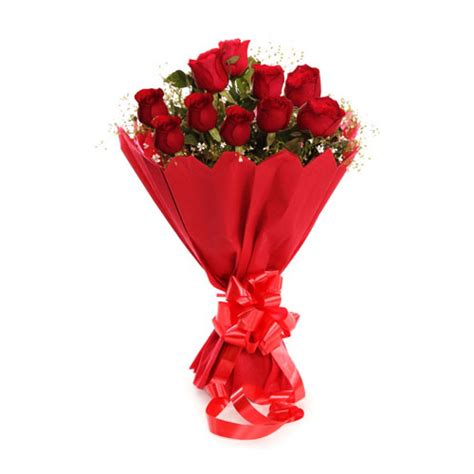 Eva Vase Red Rose Bouquet Delivery By Real Flower Company