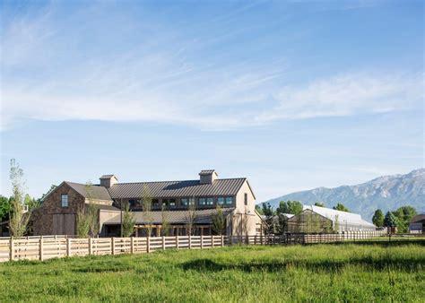 lloyd architects beautiful modern barn produces food sustainably in utah