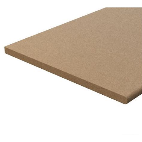 0 75 in x 1 13 48 ft x 8 ft bullnose particle board
