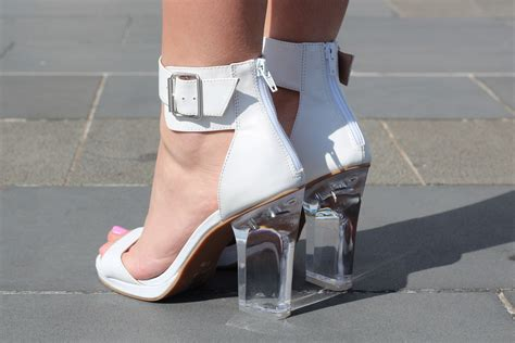 clear shoes the clear shoe trend what do you think the fashion tag