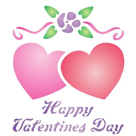valentines stencils 21 best valentines day stencils images on