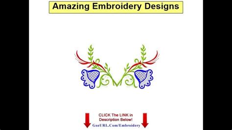 embroidery design youtube amazing embroidery designs ann the gran youtube