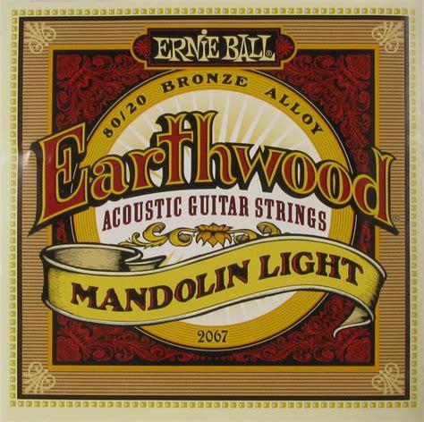 ernie ball earthwood light ernie ball mandolin earthwood light 009 034 2067