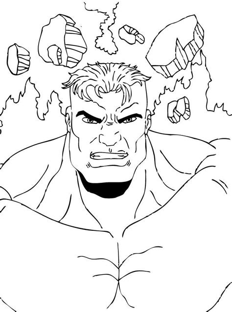 free coloring pages incredible hulk incredible hulk coloring page coloring home