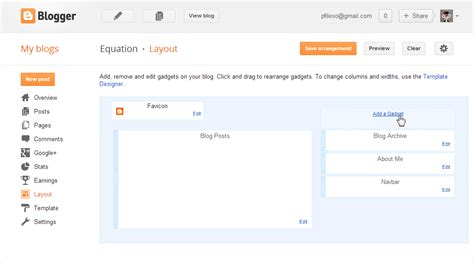 blog layout maker equations in blogger codecogs equation editor