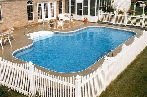 swimming pool fence ideas ideas for inground above ground swimming pool fencing