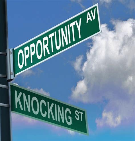 New Opportunities Knockingi Often Whethe by What To Do When Opportunity Knocks Andrea Kihlstedt