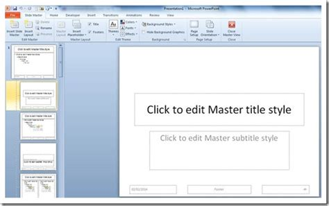 template presentasi powerpoint cara membuat template presentasi powerpoint dengan slide